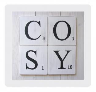 Scrabble cosy