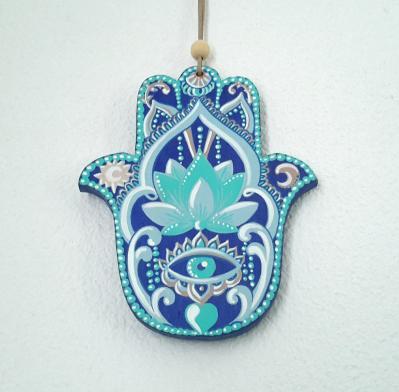 Hamsa, main de Fatima talisman
