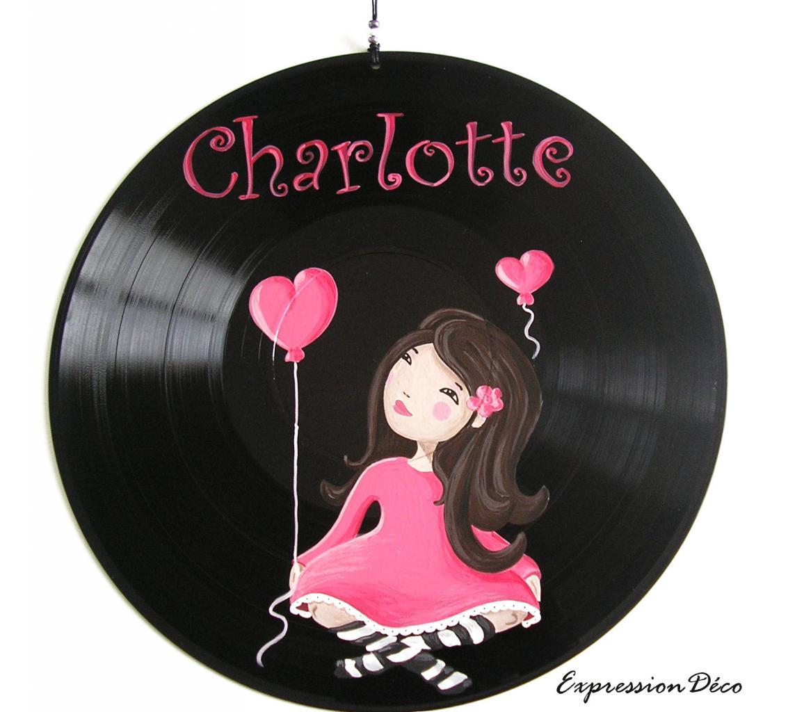 Les peintures sur disques vinyles 33 tours recycl s for Decoration porte disque 33t